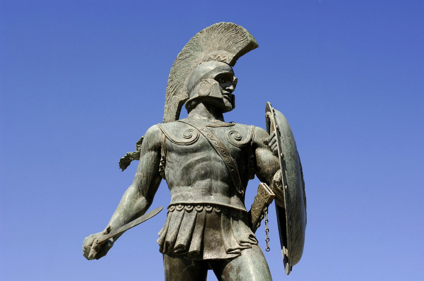 King Leonidas Sparta, Greece