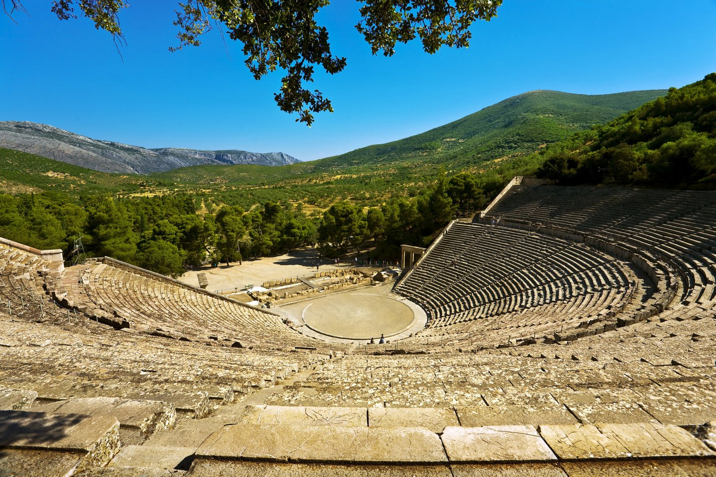 Epidaurus theater, Greece