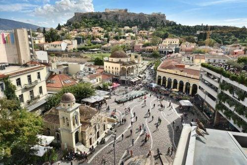 Walking Tour of Athens