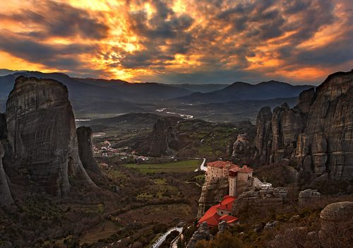 The Meteora, Greece
