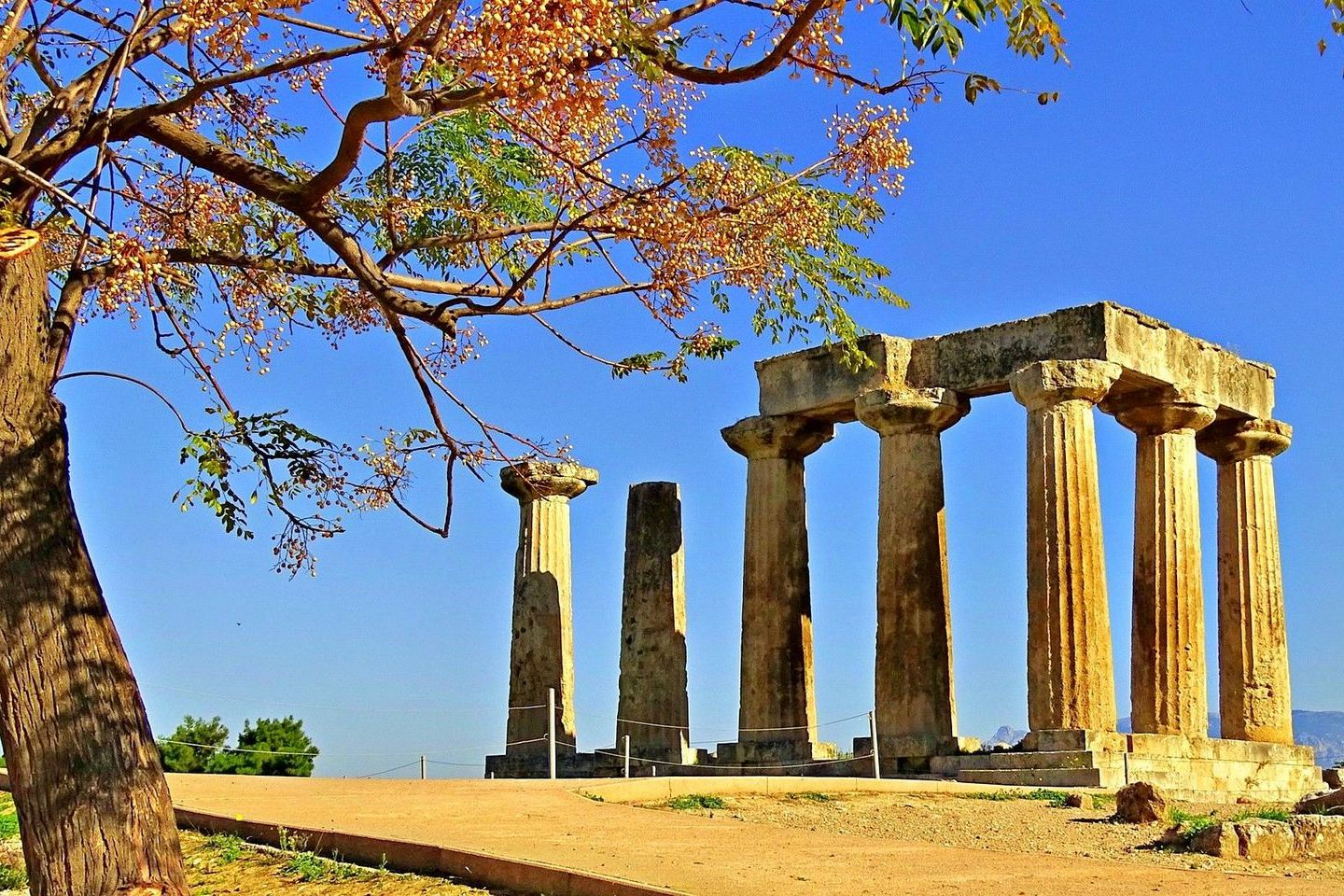 Ancient Corinth, Greece