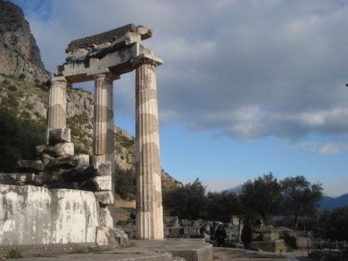 The famous Delphi oracle, Greece
