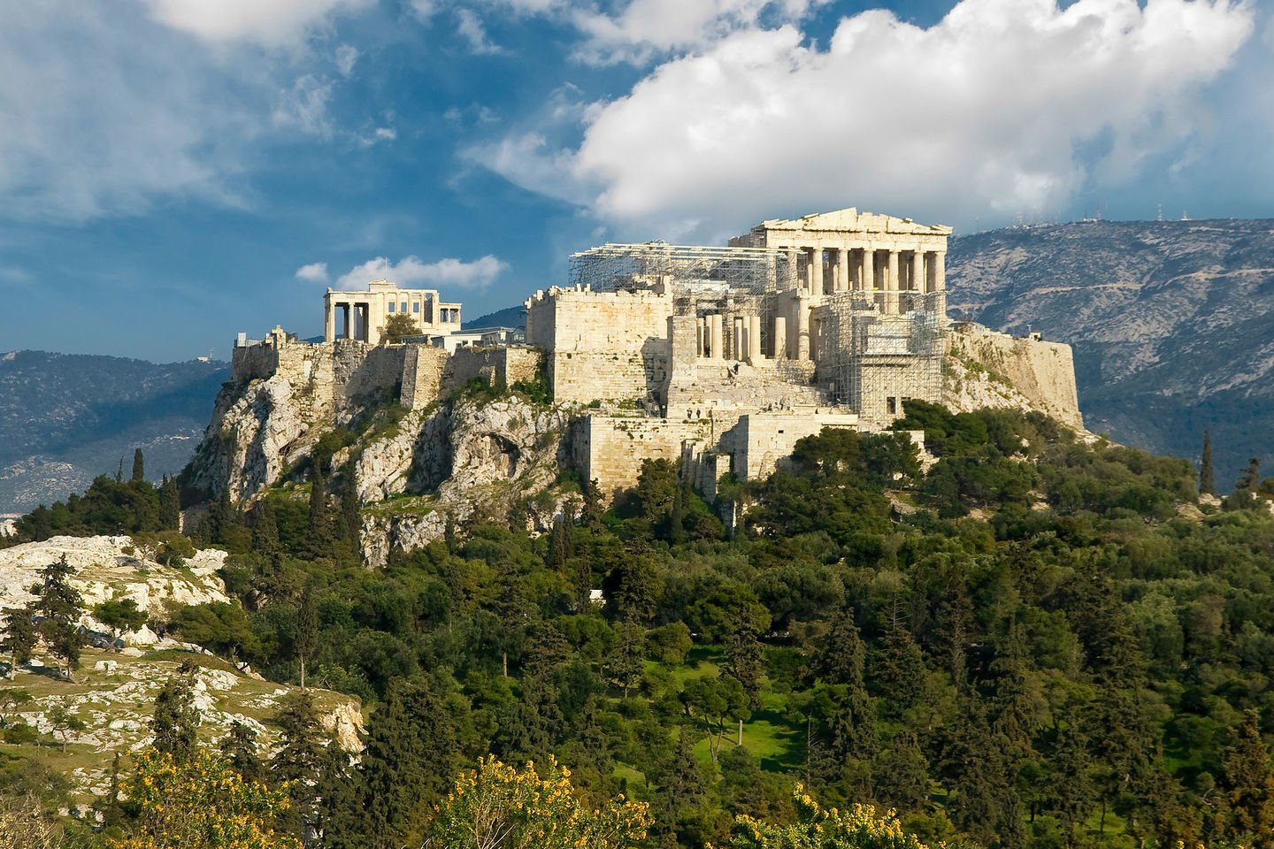 The Acropolis of Athens, Greece