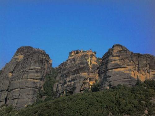 Monastery Rousanou in Meteora, Greece