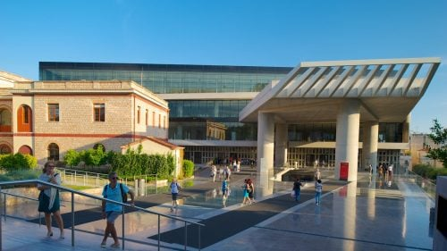 The Athens Acropolis museum, Greece