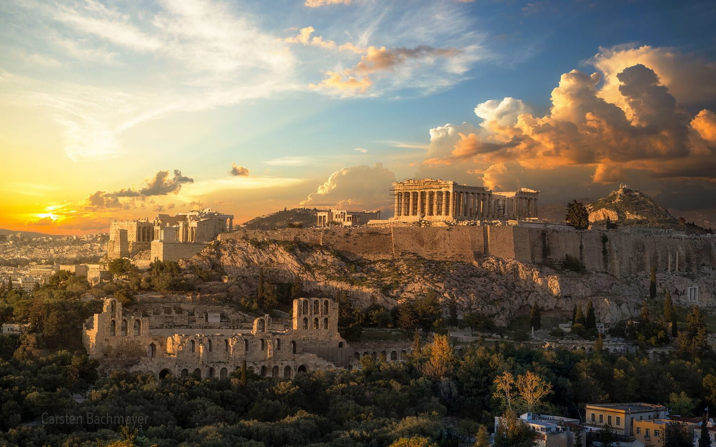 The golden age of Athens, Acropolis Greece