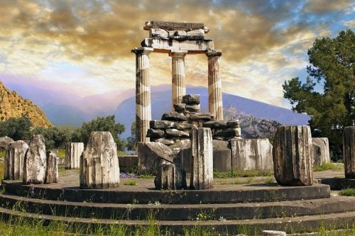 Ancient Delphi Greece