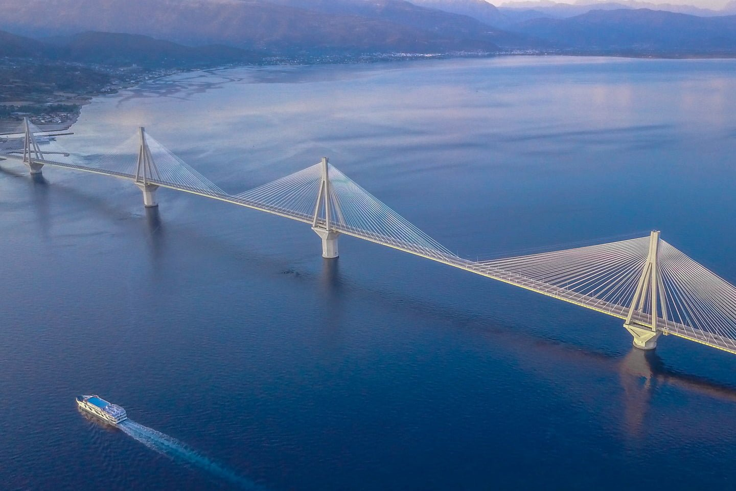 Rio -Antirio Bridge, Greece