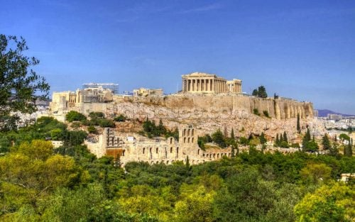 The Athens Acropolis, Greece