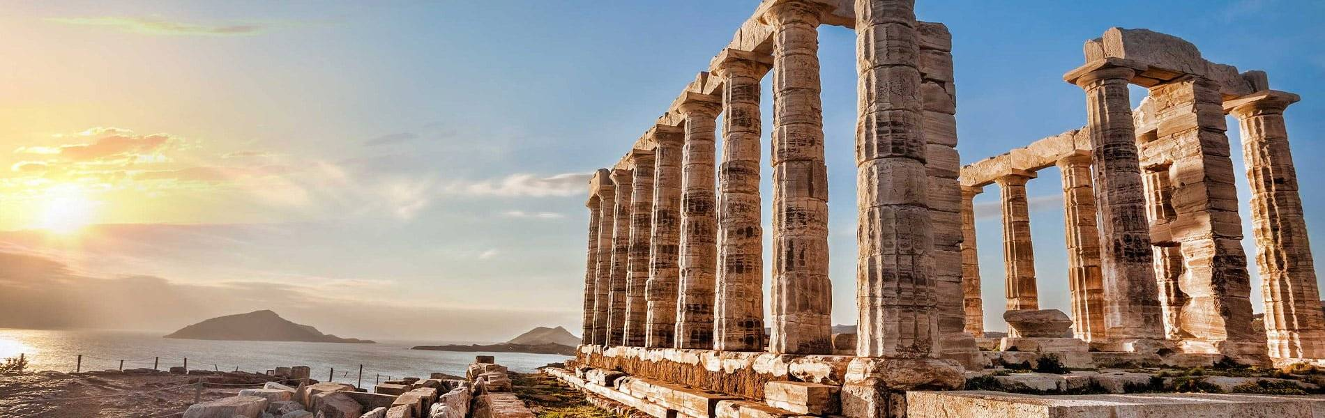 poseidon temple at sounion